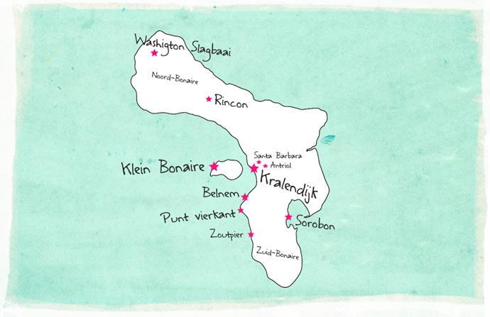 bonaire-map