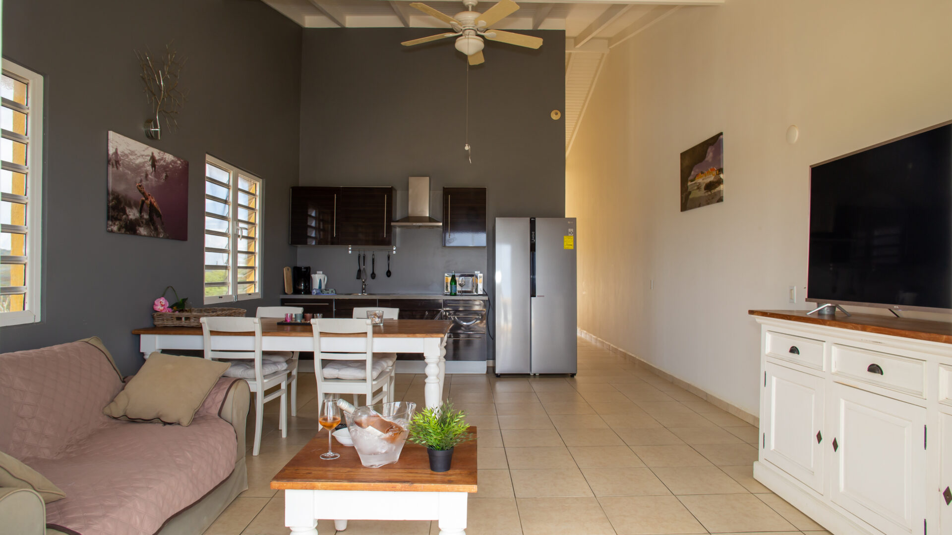 Hillside apartments Bonaire - -4341