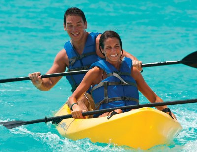 16 Active Couple Watersports Kayaking