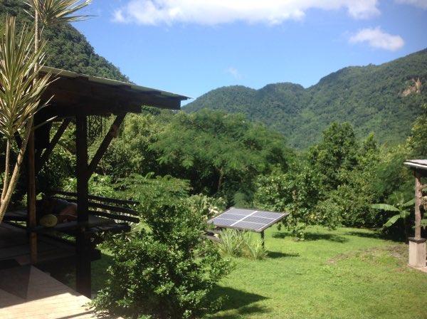 La Bou Cottage omgeving-solar-energie
