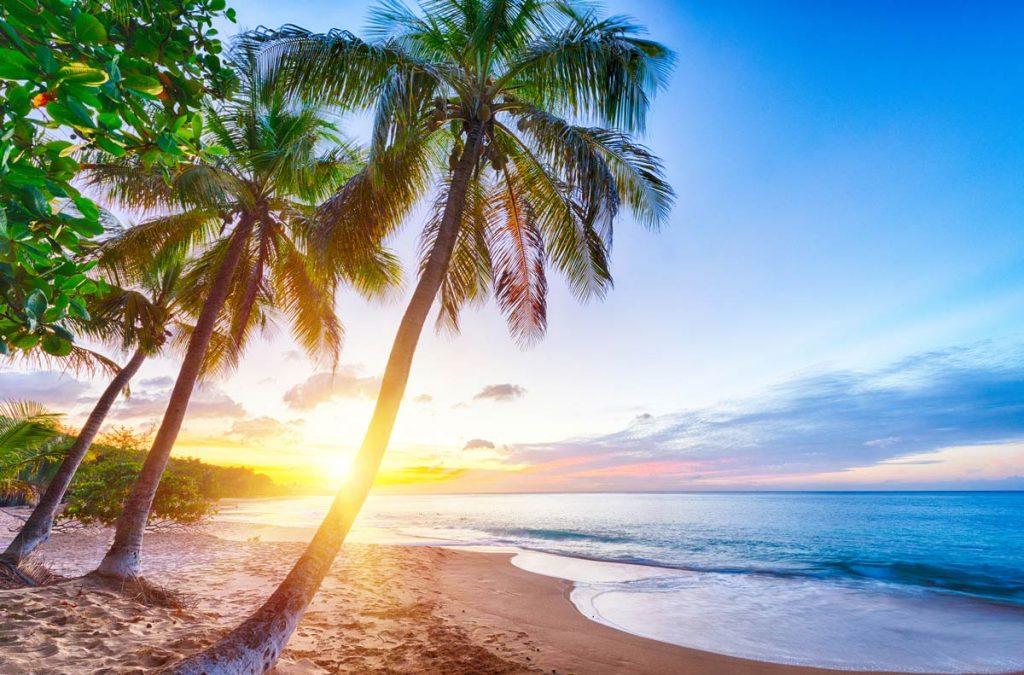 guadeloupe-beach-sunset