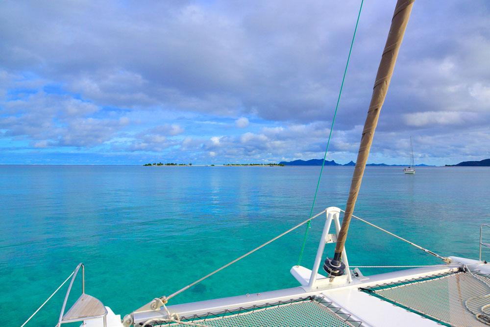 Zodra ik een eiland aan de horizon zie, wil ik er heen, het werkt als een soort verslaving